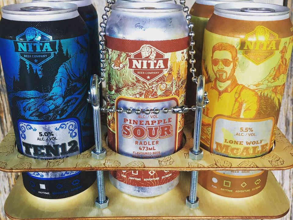 Microbrasserie cannettes bière Nita Beer Company Ottawa Ulocal produit local achat local