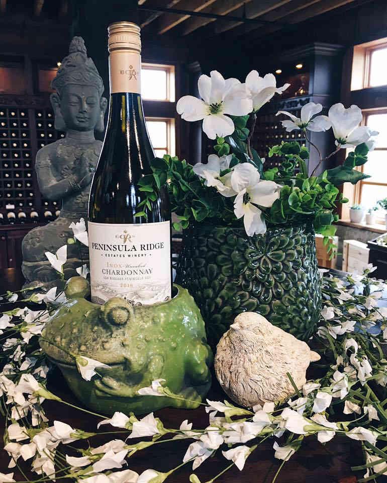 Vineyard Wine Bottle Peninsula Ridge Estates Winery Lincoln Ulocal Local Product Local Purchase