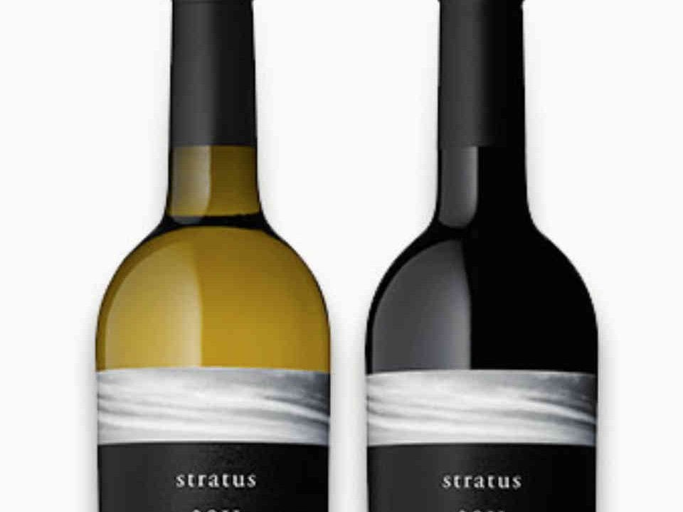 Vineyard wine bottles Stratus Vineyard Niagara-on-the-Lake Ontario Canada Ulocal Local Product Local Purchase