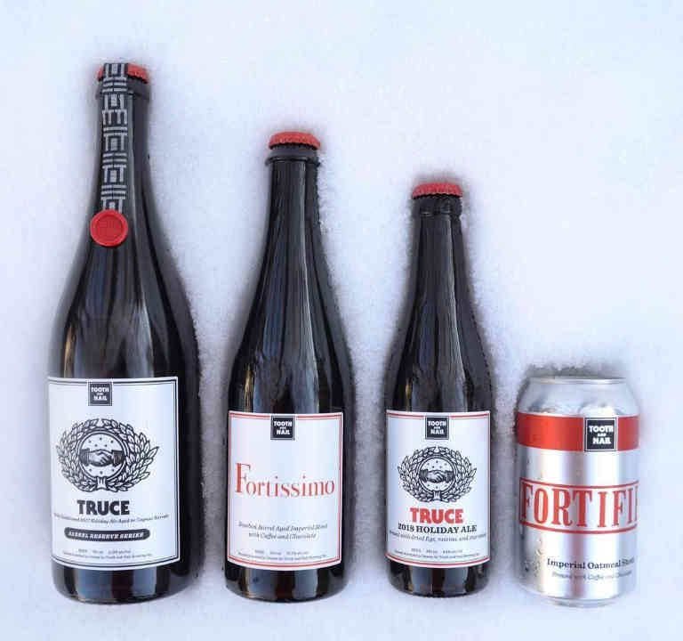Microbrewery bottles and cans beer Tooth and Nail Brewery Ottawa Ulocal local product local purchase