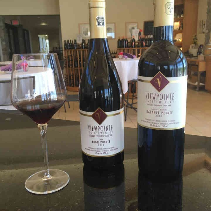 Vineyard Wine Bottles Viewpointe Estate Winery Essex Ulocal Local Product Local Purchase
