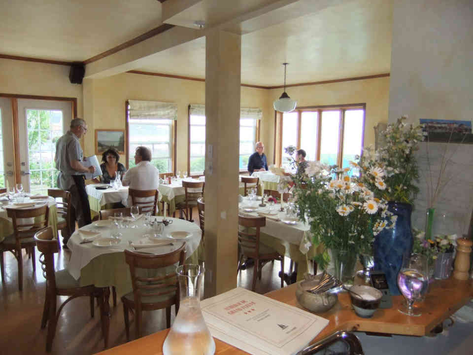 Food Restaurant Restaurant of the Great River Inn Métis-sur-Mer Ulocal local product local purchase