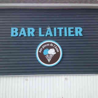 Bar laitier alimentation Aux glaces de l'Anse Cap-d'Espoir Ulocal produit local achat local