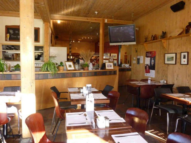 Restaurant Le Café de L'Anse du Centre culturel Le Griffon Gaspé Ulocal produit local achat local
