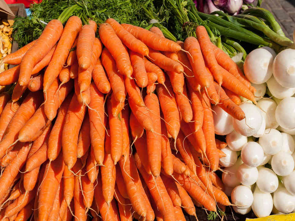Family Farmers Food Fruits and Vegetables Farm Beta Carotene St. Edward Ulocal Local Product Local Purchase