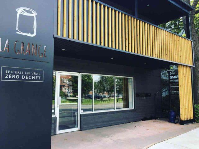Épicerie alimentation biologique en vrac zéro déchet La Grange Épicerie en vrac Victoriaville Ulocal produit local achat local