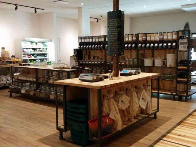 Épicerie spécialisées alimentation bio vrac zéro déchet Le Silo Sherbrooke Ulocal produit local achat local