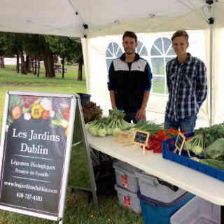 Fermiers de famille paniers bio fruits et légumes Les Jardins Dublin Inverness Ulocal produit local achat local