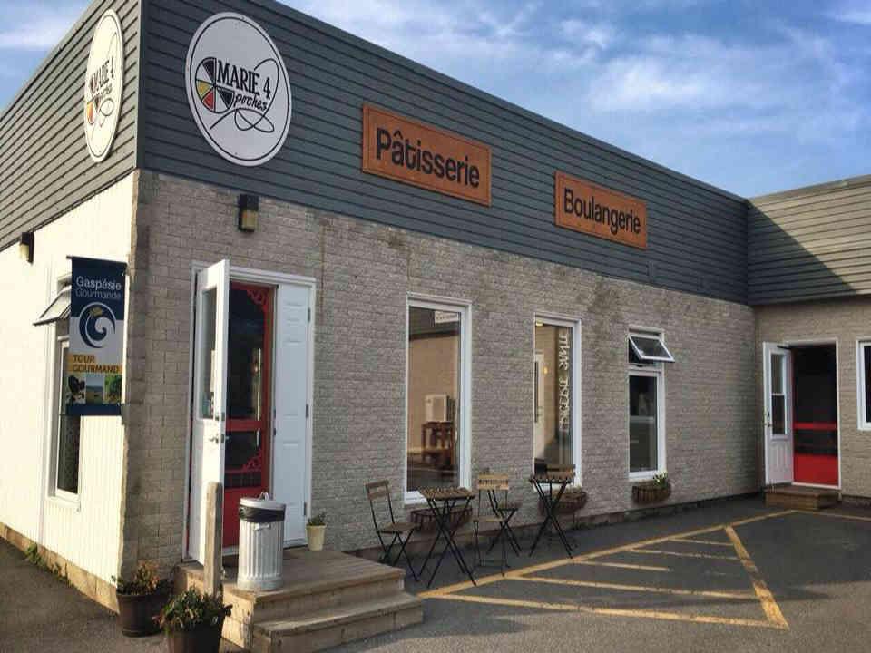 Boulangerie pâtisserie Marie 4 poches Sainte-Anne-des-Monts Ulocal produit local achat local