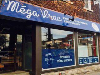 Épicerie écologique vrac bio zéro déchet Méga Vrac hochelaga Montréal Ulocal produit local achat local
