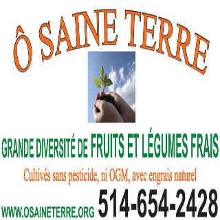 Farmers of organic fruits and vegetables organic baskets Ô Saine Terre L'Assomption Ulocal local product local purchase