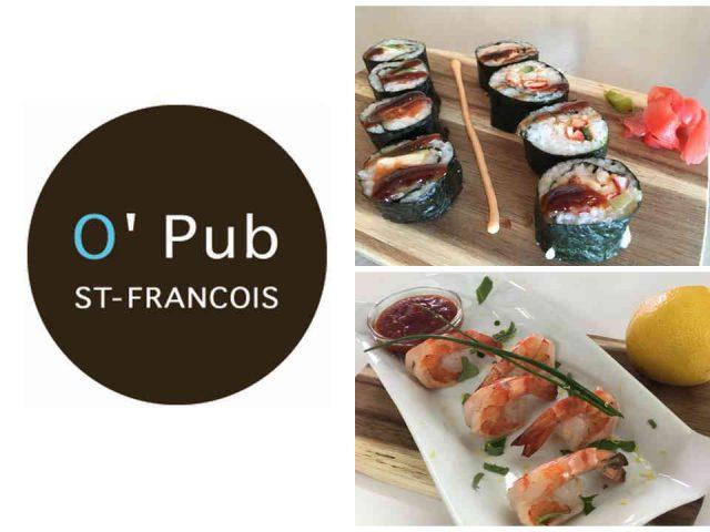 Restaurant alcool O'Pub St-François de l'Hôtel La Côte Surprise Percé Ulocal produit local achat local