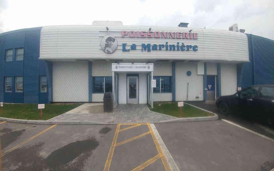 Poissonnerie Alimentation Poissonnerie La Marinière Gaspé Ulocal produit local achat local