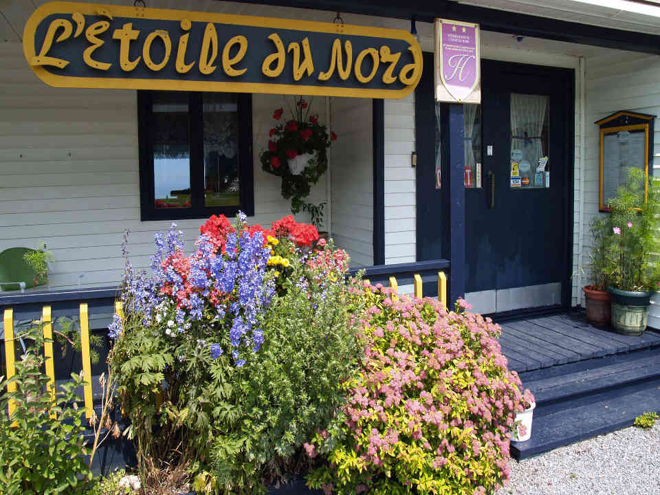 restaurant food Restaurant Motel L'Etoile du Nord Cloridorme Ulocal local product local purchase
