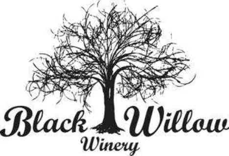 Vignoble logo Black Willow Winery Burt New York États-Unis Ulocal produit local achat local