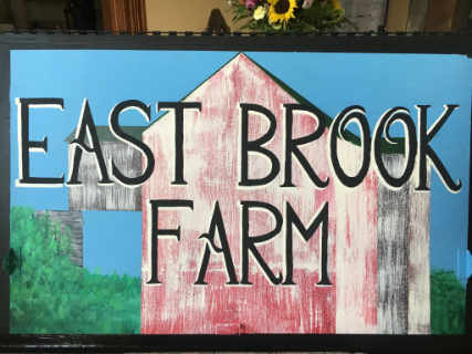 Family Farmer sign East Brook Community Farm Walton New York United States Ulocal Local Product Local Purchase