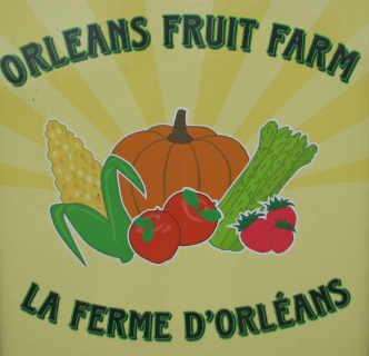 Marché de fruits et légumes logo La ferme d'Orléans - Orleans Fruit Farm Ltd Ottawa Ontario Canada Ulocal produit local achat local