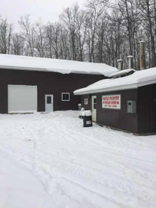 Sugar shack sugar shack Maple Country Sugar Bush Palmer Rapids Ontario Canada Ulocal Local Product Local Purchase
