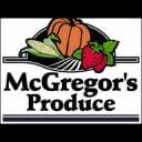 Marché de fruits et légumes logo McGregor's Produce Braeside Ontario Canada Ulocal produit local achat local