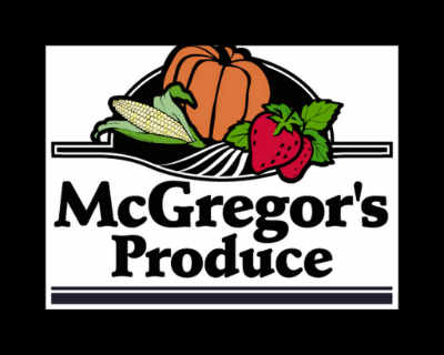 Produces Market logo McGregor's Produce Braeside Ontario Canada Ulocal Local Product Local Purchase