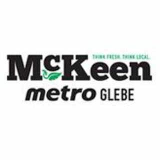 Grocery Store logo McKeen Metro Glebe Ottawa Ontario Canada Ulocal Local Product Local Purchase