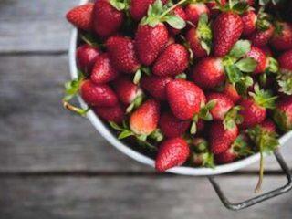 Marché public fraises Metcalfe Farmers' Market Ottawa Ontario Canada Ulocal produit local achat local
