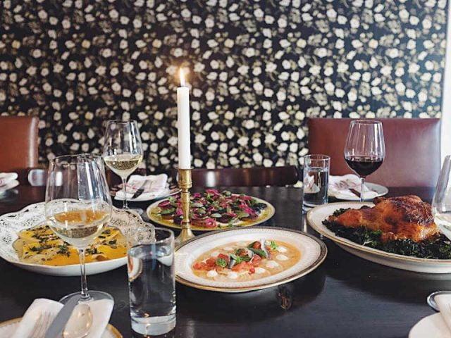 Restaurant repas North & Navy Ottawa Ontario Canada Ulocal produit local achat local