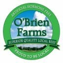 Sale of Meat logo O'Brien Farms Winchester Ontario Canada Ulocal Local Product Local Purchase