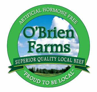 Vente de viande logo O'Brien Farms Winchester Ontario Canada Ulocal produit local achat local