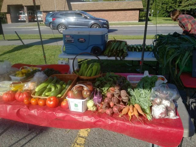 Family Farmer vegetables kiosk Our Farm Ottawa Ontario Canada Ulocal Local Product Local Purchase