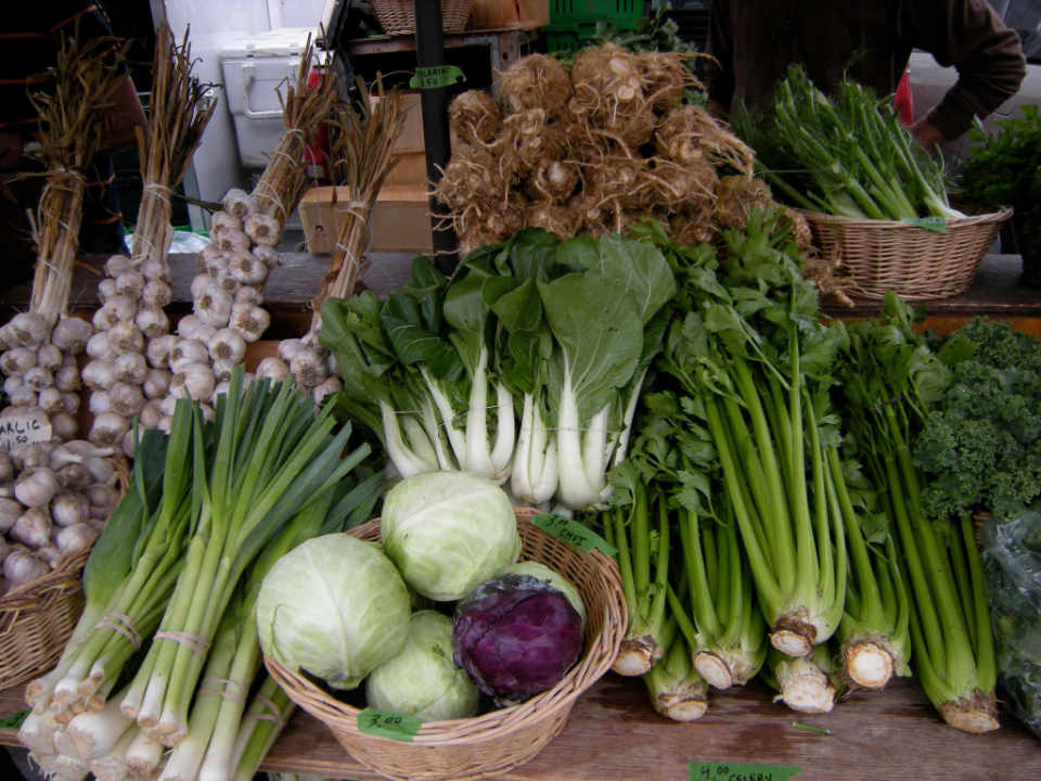 Marché de fruits et légumes légumes Patchwork Gardens Battersea Ontario Canada Ulocal produit local achat local