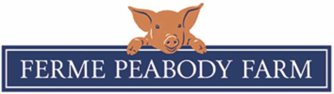 Vente de viande logo Peabody Farm Venosta Québec Canada Ulocal produit local achat local