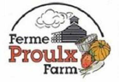 Marché de fruits et légumes logo Proulx Maple & Berry Farm Ottawa Ontario Canada Ulocal produit local achat local