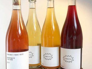 Vignoble bouteilles de vin Wild Arc Farm Pine Bush New York États-Unis Ulocal produit local achat local