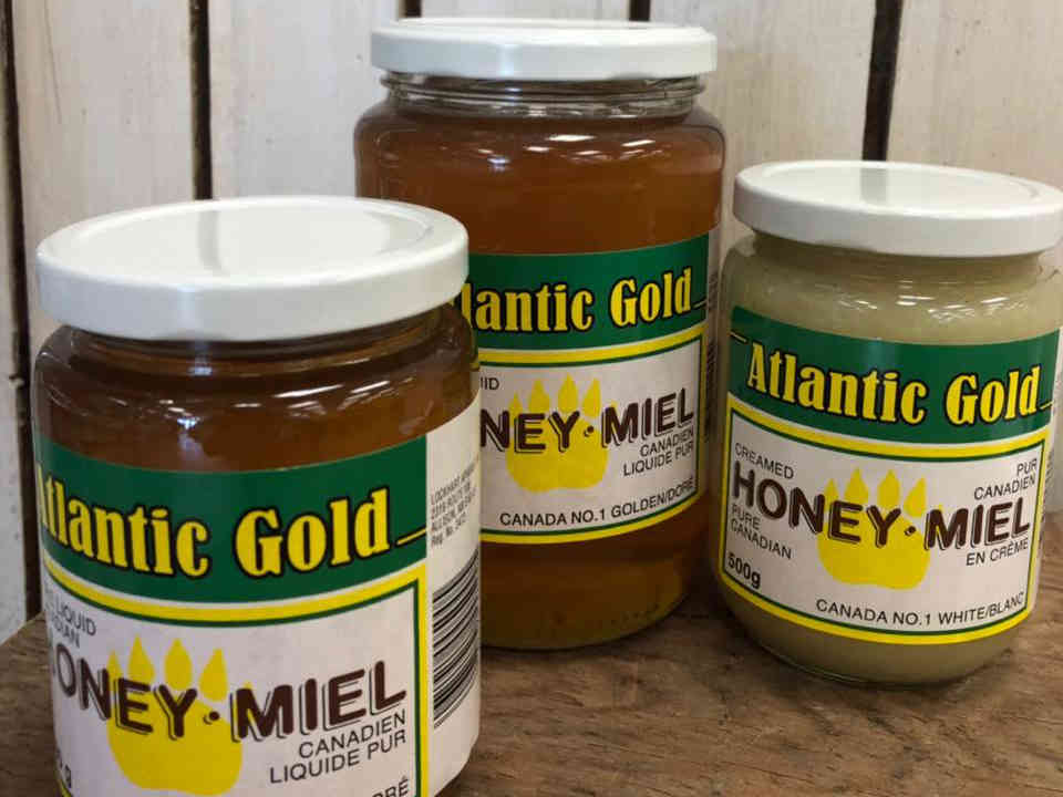 Beekeeper honey Atlantic Gold (Lockhart Apiaries) Allison New Brunswick Canada Ulocal product terroir local product local purchase