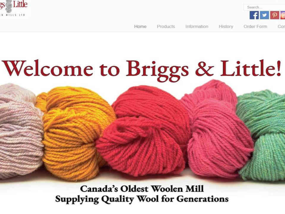 Wool shop clothes Briggs & Little Woolen Mills Ltd. Harvey Nouveau-Brunswick Ulocal local product local purchase