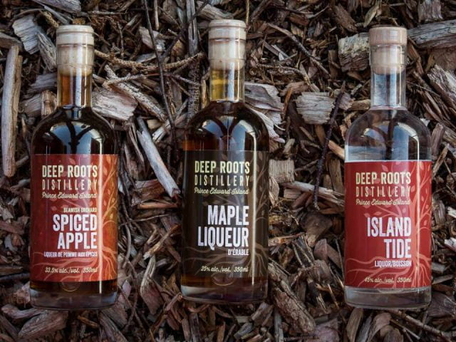 Distillerie alcool Deep Roots Distillery Warren Grove Prince Edward Island Canada Ulocal produit local achat local