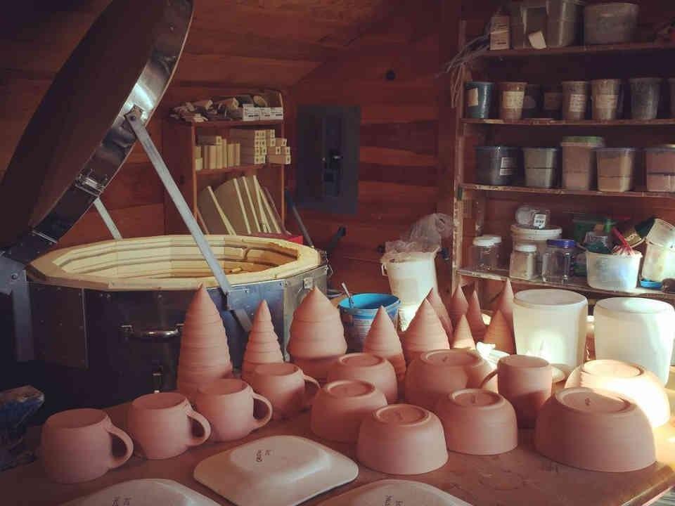 Poterie artisans fait à la main Denise MacLean Pottery Harvey Nouveau-Brunswick Ulocal produit local achat local