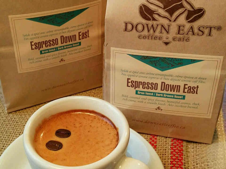 Café Down East Coffee Roasters Notre-Dame Ulocal produit local achat local