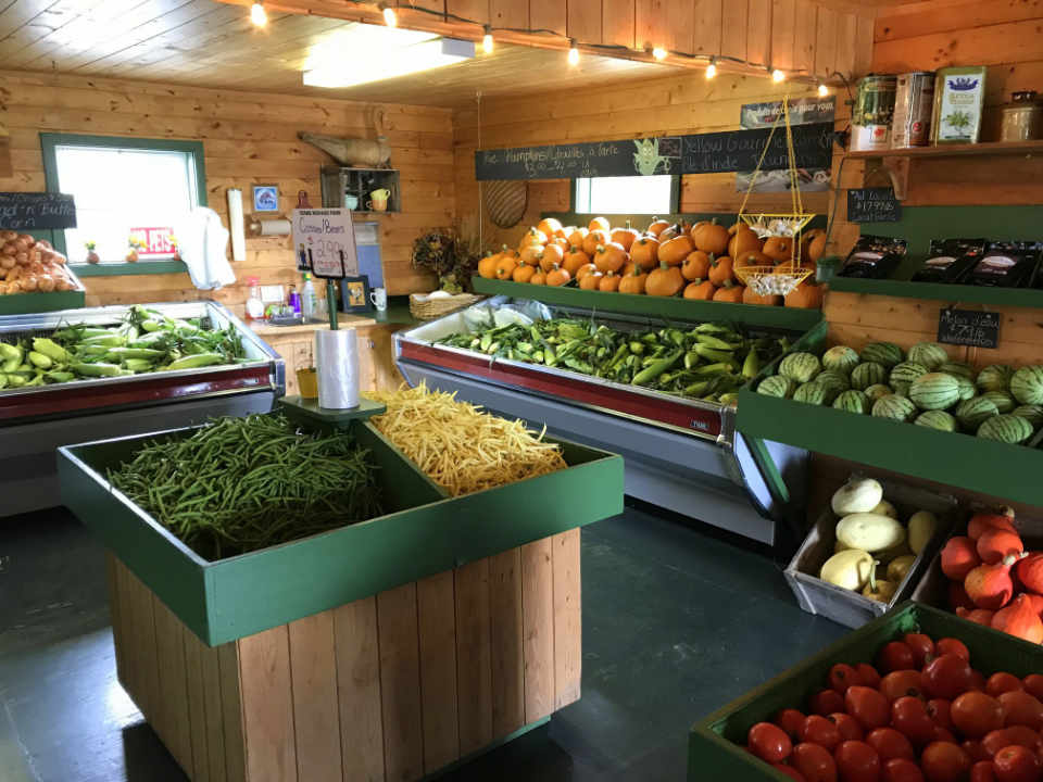 Fruit and Vegetable Market Ferme Michaud Farm Bouctouche Bay New Brunswick Canada Ulocal local product local purchase local product