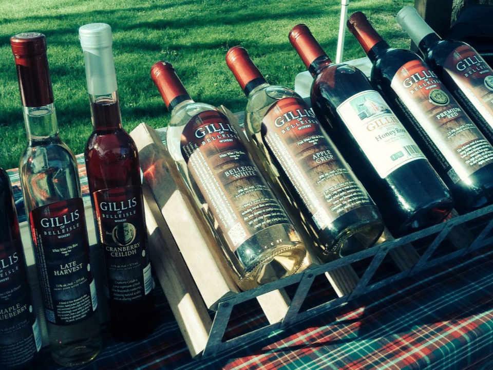 Vignoble alcool Gillis of Belleisle Winery Springfield Nouveau-Brunswick Canada Ulocal produit local achat local produit terroir