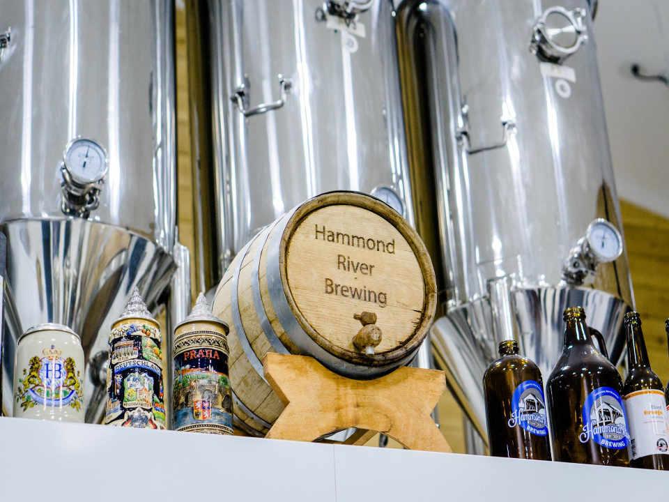 Microbrasserie alcool Hammond River Brewing Company Inc. Rothesay NB Canada produit local achat local produit terroir