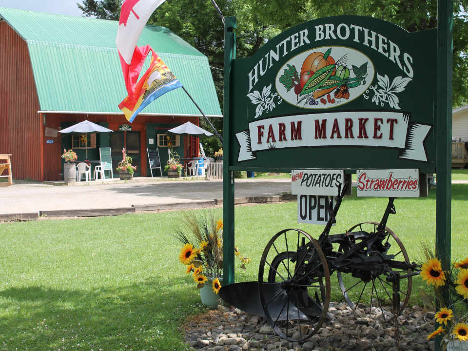 Fruit and Vegetable Market Hunter Brothers Farm Florenceville-Bristol NB Canada Ulocal Local Product Local Product Local Product