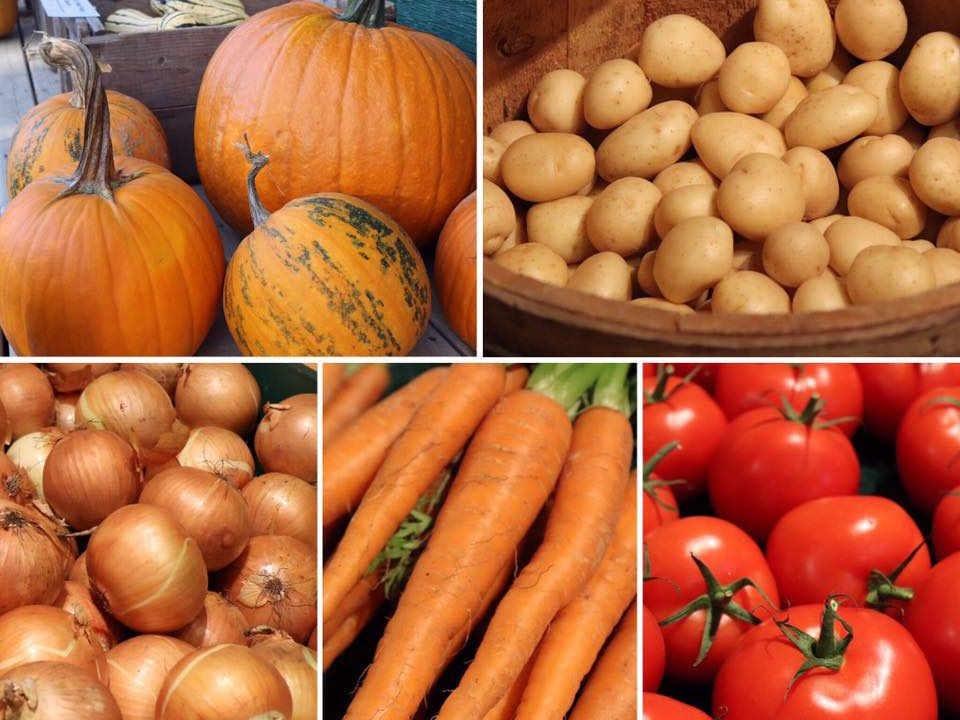 Marché de fruits et légumes Hunter Brothers Farm Florenceville-Bristol NB Canada Ulocal produit local achat local produit terroir