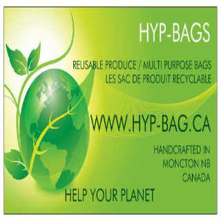 Crafts Reusable Bags HYP Bags Moncton NB Canada Ulocal Local Product Local Purchase