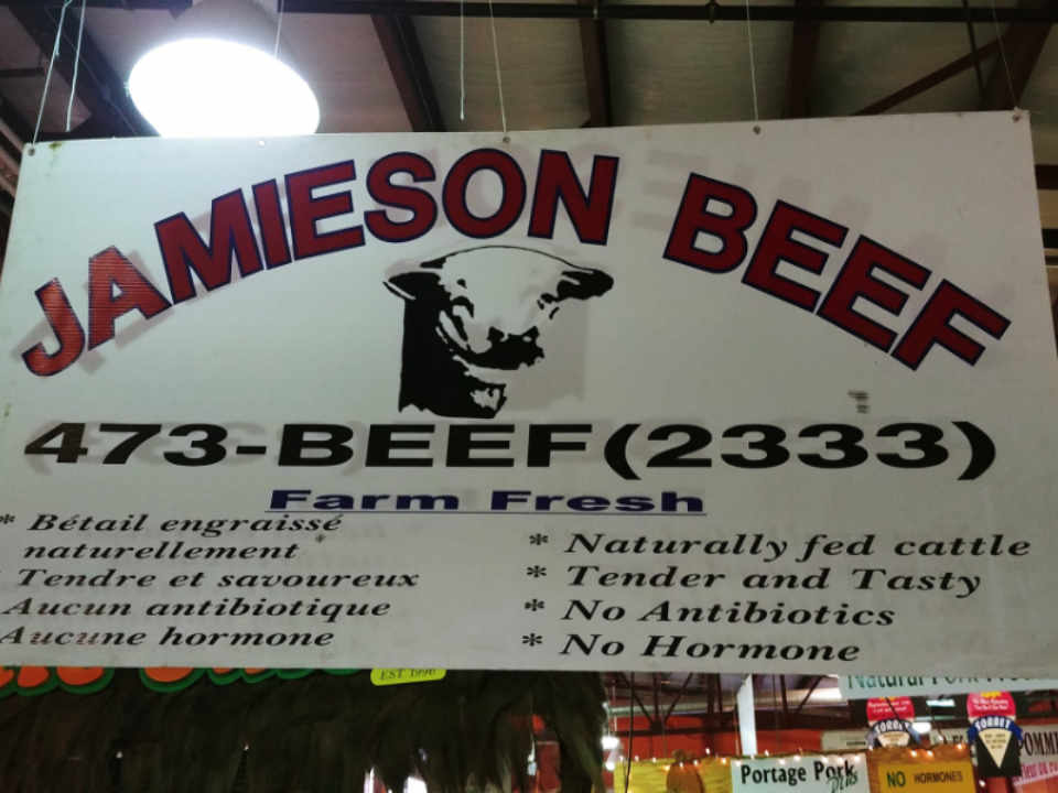 Sale of meat food Jamieson Beef