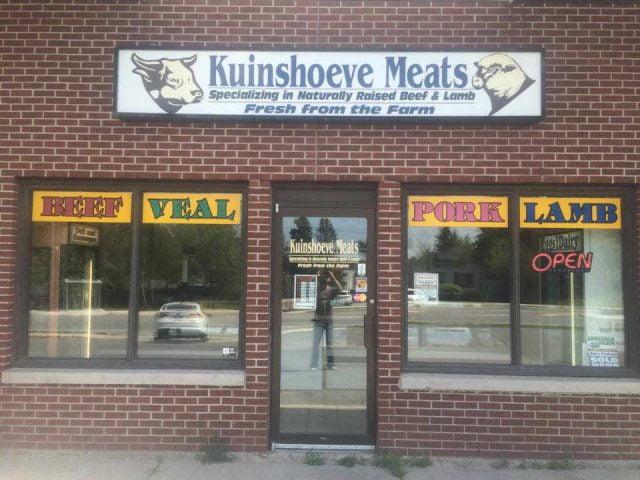 Boucherie alimentation Kuinshoeve Meat Ltd. Rothesay NB Canada Ulocal produit local achat local produit terroir