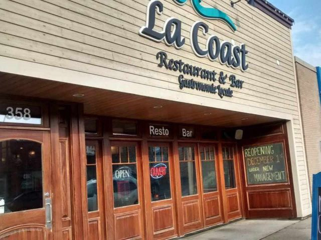 Restaurant La Coast Restaurant et bar Shediac New Brunswick Ulocal produit local achat local