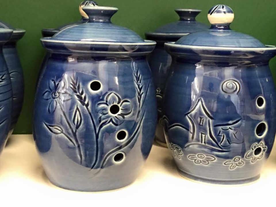 Boutique d'artisanat décoration intérieure La Maison du Potier Grosse-Île Canada Ulocal produit local achat local