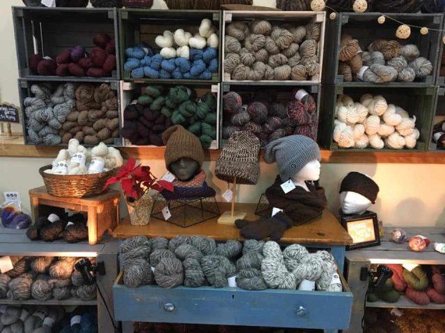 Boutique vêtements laine Legacy Lane Fibre Mill Sussex Nouveau-Brunswick Ulocal produit local achat local